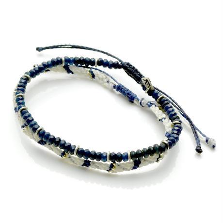 Wakami - 2set Anklet / blue