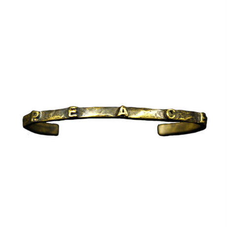 "Varde77×THEFT MESSAGE BANGLE ""PEACE"""