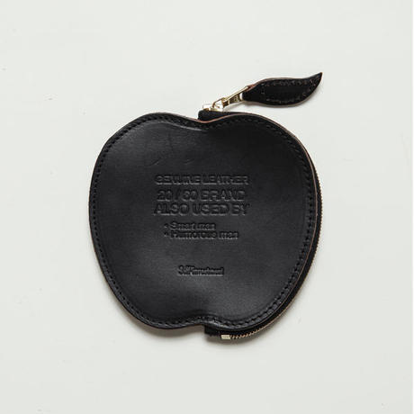 20/80トゥエンティーエイティー/ HORWEEN LEATHER APPLE COIN CASE/BK
