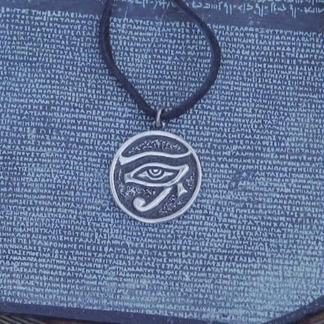TIME  Horus Plate Necklace(SILVER)