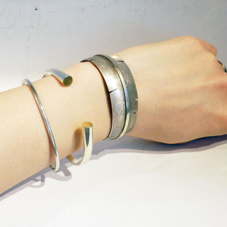 stenich - BRASSFACE bangle