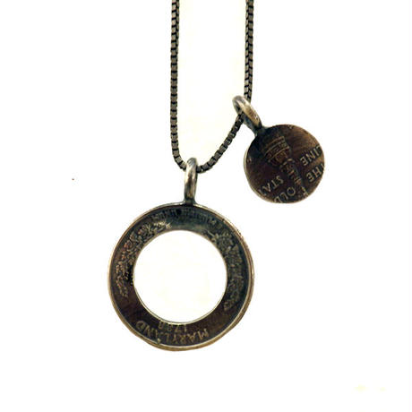 THEFT - American coin Necklace top