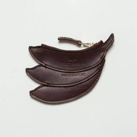 20/80トゥエンティーエイティー/ KIP LEATHER BANANA COIN CASE/BR