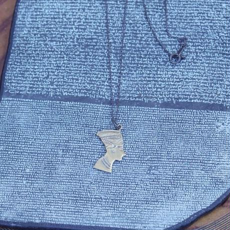 TIME  Pharaoh Necklace(BRASS)