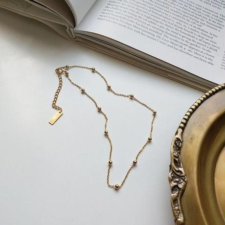 j151.S925 ball chain necklace