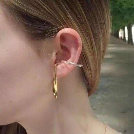 j175.double unique ear cuff