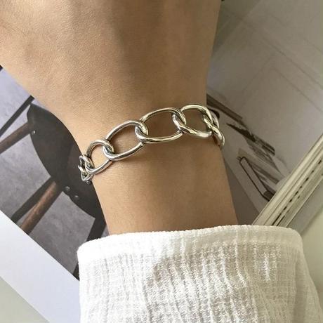 j140.S925 chain bangle
