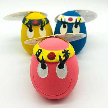 ランコ (LANCO) 犬用おもちゃ/ハチマキタマゴ アソート(イエロー・ピンク・ブルー)