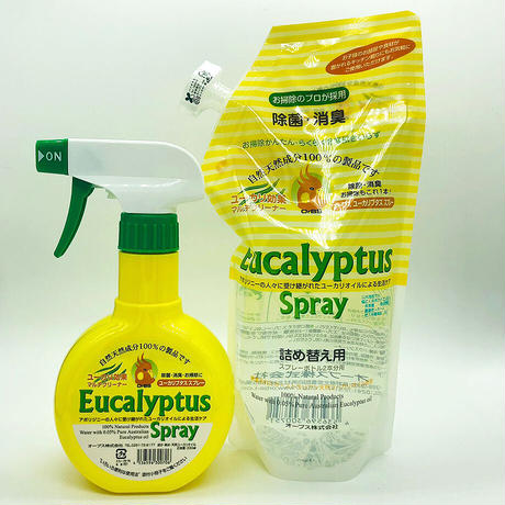 OrBS (オーブス)天然成分100%の除菌消臭ユーカリプタススプレー詰替え用600ml