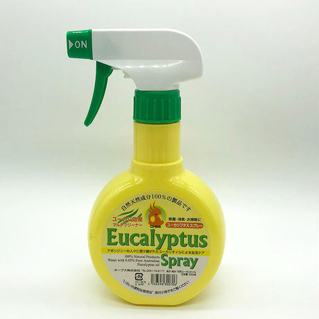 OrBS (オーブス)天然成分100%の除菌消臭 ユーカリプタススプレー本体330ml