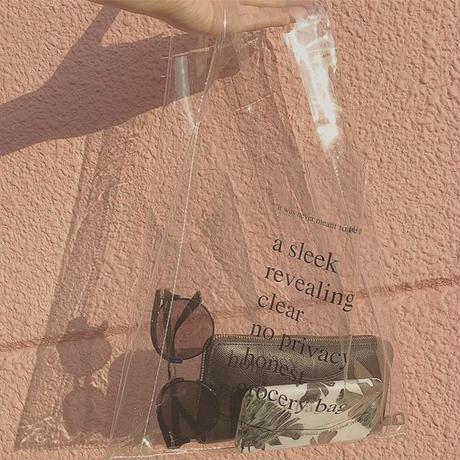 bag2-02328 送料無料! PVCバッグ 透明クリアバッグ