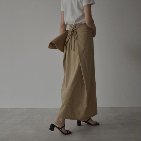 9月上旬入荷分 予約販売 bottoms-04032 日本製 ナイロンタスランタック スカート ベージュ ブラック