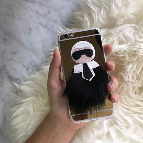 iphone-02209 送料無料! メタリックゴールド ファー iPhoneケース iPhone6ケース