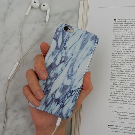 iphone-02051  送料無料! タイプ13 ブルー 大理石 マーブル柄 天然石柄 iPhoneケース