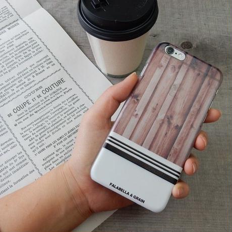 iphone-02132 送料無料! スケルトン ウッド木デザイン iPhoneケース
