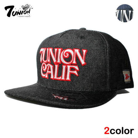 セブンユニオン 7UNION スナップバックキャップ 帽子 メンズ レディース デニム フリーサイズ IPXY-119
