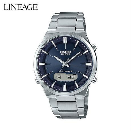 カシオ リニエージ 腕時計 メンズ レディース CASIO LINEAGE 電波 ソーラー 防水 [ 国内正規品 ] LCW-M510D-2AJF