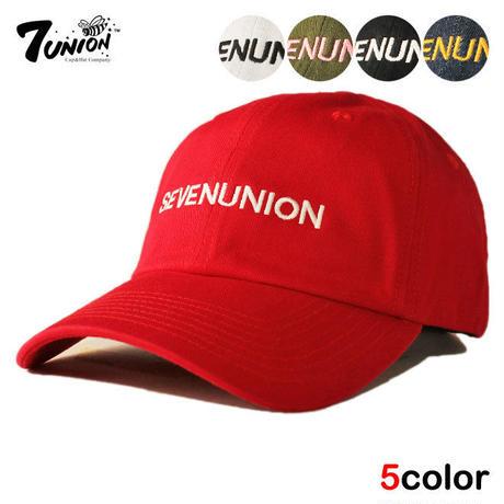 セブンユニオン 7UNION ストラップバックキャップ 帽子 メンズ レディース フリーサイズ IAVW-165