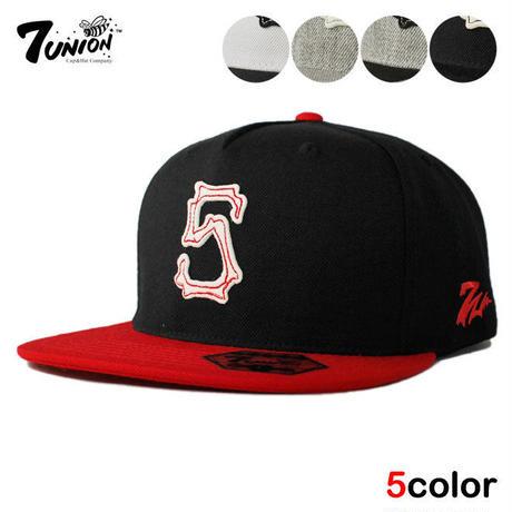 セブンユニオン 7UNION スナップバックキャップ 帽子 メンズ レディース フリーサイズ IAVW-156