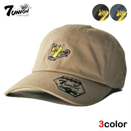 セブンユニオン 7UNION ストラップバックキャップ 帽子 メンズ レディース デニム フリーサイズ IPXY-109
