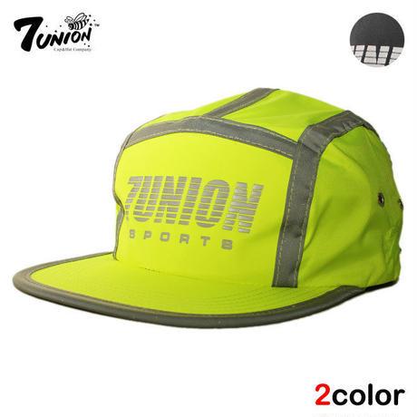セブンユニオン 7UNION ランナーキャップ キャンプ ストラップバック 帽子 メンズ レディース リフレクター フリーサイズ IPXY-113
