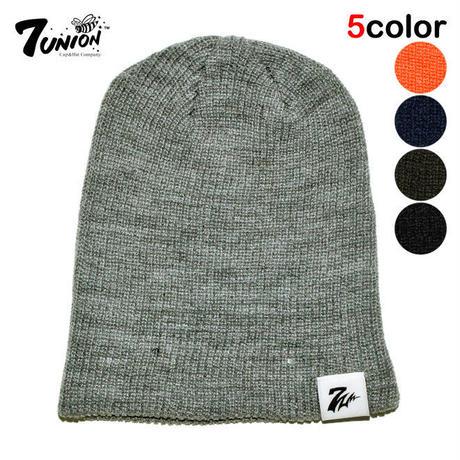 セブンユニオン 7UNION ニット帽  ビーニーキャップ 帽子 メンズ レディース ワンサイズ IPXY-503