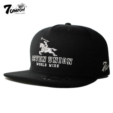 セブンユニオン 7UNION ストラップバックキャップ 帽子 メンズ レディース フリーサイズ IPXY-117