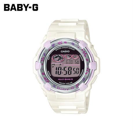 【女性用】 カシオ ベビーG 腕時計 ベビージー ベイビージー レディース CASIO BABY-G 電波 ソーラー 防水 [ 国内正規品 ] BGR-3000CBP-7JF