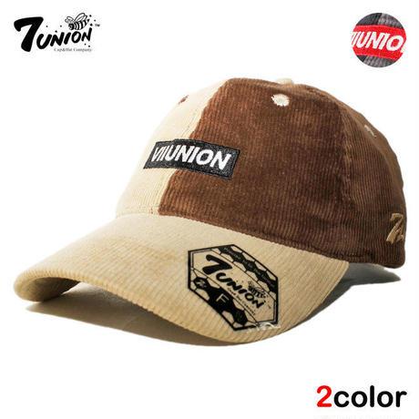 セブンユニオン 7UNION ストラップバックキャップ 帽子 メンズ レディース コーデュロイ フリーサイズ IPXY-122