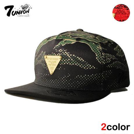 セブンユニオン 7UNION スナップバックキャップ 帽子 メンズ レディース 迷彩 フリーサイズ IPXY-115