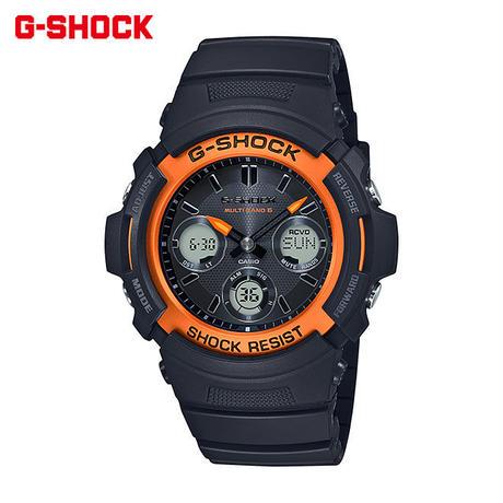 カシオ Gショック 腕時計 ジーショック メンズ レディース CASIO G-SHOCK 電波 ソーラー 防水 [ 国内正規品 ] AWG-M100SF-1H4JR