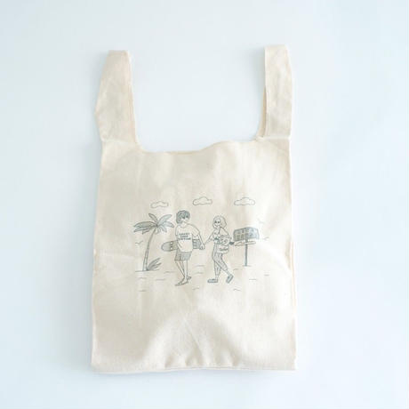utility×Lenny code fiction  special collaboration ECO BAG