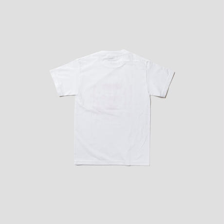 CAT SS TEE(WHT/RED)