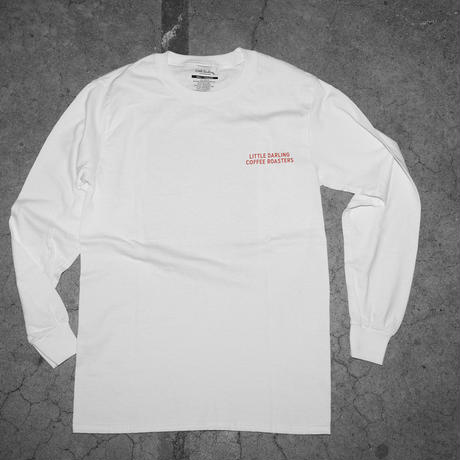 DIRTY MINDS LS TEE(WHITE)