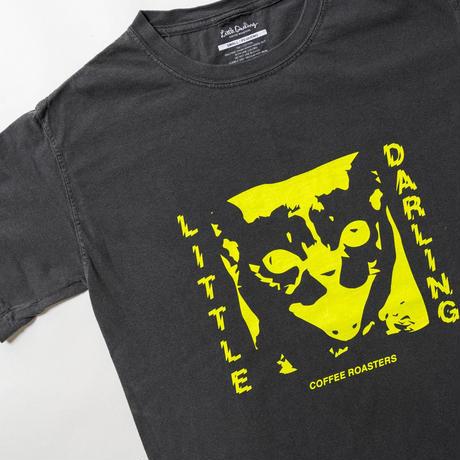 CAT SS TEE(PEPPER/YELLOW)