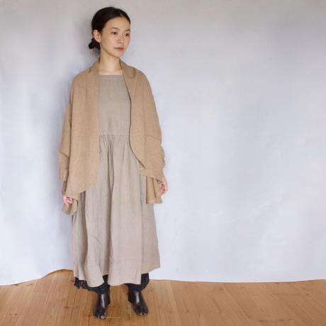 Vlas Blomme(ヴラスブラム)  Cashmere French Terry ショールカーデ 12310691