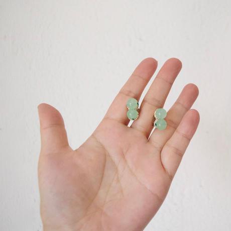 tamas(タマス)イヤリング&ピアス「SANAE / Green」