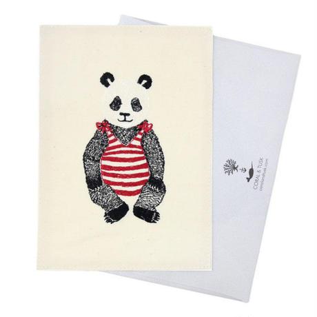 Coral & Tusk/コーラル・アンド・タスク「 Panda Bear」グリーティングカード