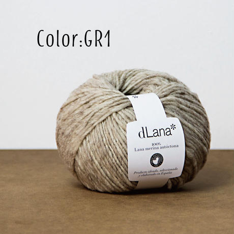 dLana*  Certified 100% local Merino Wool 50g 小巻