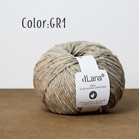 【通常販売:3営業日以内に発送可能】dLana*  Certified 100% local Merino Wool 50g 小巻