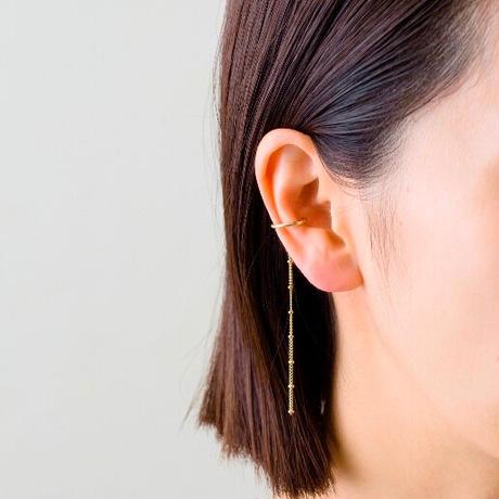 Aperdiem(アペルディエム) Starry Round Ear Cuff-ゴールド