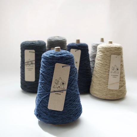【8月末お届け】saredo /されど  2/4.7 re-specked cotton(リ・スペクトコットン/スペック染め)