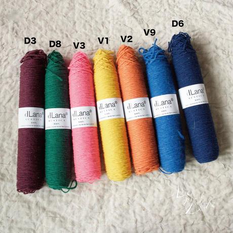 【3営業日以内に発送】dLana:Canilla Lana Rústica Colores(VIVID カラーレンジ)