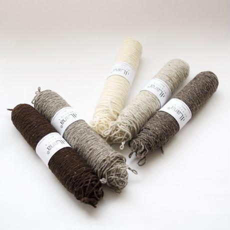 【2営業日以内に発送可能】dLana* Artisan Yarn / Rustic Wool(ラスティックウール)100g ボビン