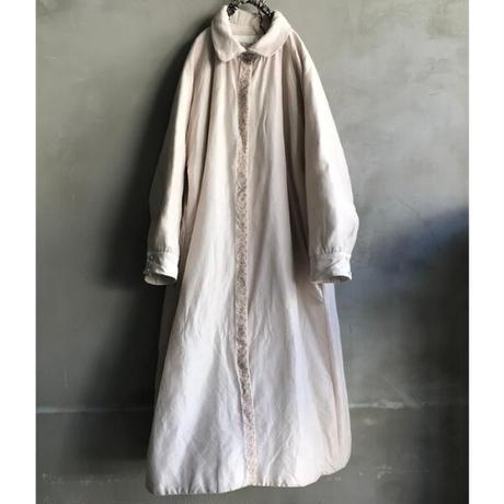BUNON(ブノン) 刺繍入りキルトライナーコート