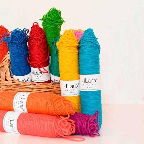 【3営業日以内に発送】dLana:Canilla Lana Rústica Colores(カラーシリーズ)