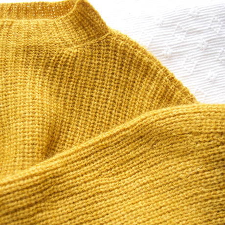 [第9次受注販売[印刷物の編み図+糸のセット]:itoitoプルオーバーキット/Repos(ルポ) ×Pissenlit(ピサンリ)引き揃え