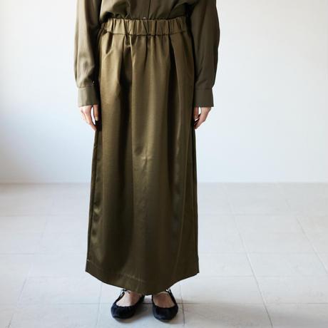 humoresque(ユーモレスク) ダブルフェイスサテン  ロングスカート tight skirt