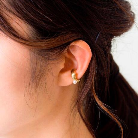 Aperdiem(アペルディエム) 淡水パール付き イヤーカフ Flow Pearl Ear Cuff