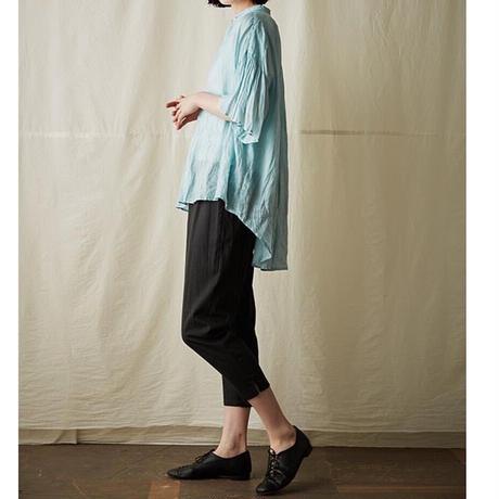 suzuki takayuki(スズキタカユキ) flared-sleeve blouseリネン フレアスリーブ ブラウス